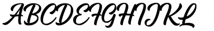 Arthein regular Font UPPERCASE