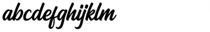 Arthein regular Font LOWERCASE