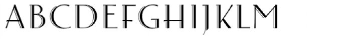 Arthur Cabinet Garden Font LOWERCASE