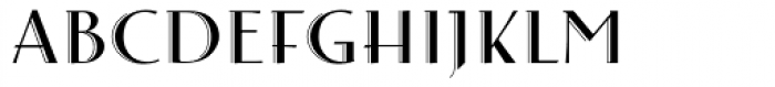 Arthur Cabinet Onyx Font LOWERCASE