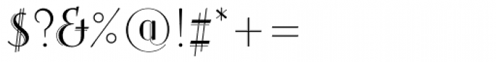 Arthur Cabinet Serif Font OTHER CHARS