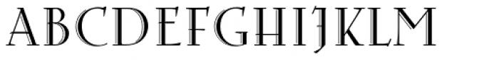 Arthur Cabinet Serif Font UPPERCASE
