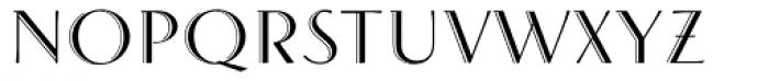 Arthur Cabinet Serif Font LOWERCASE