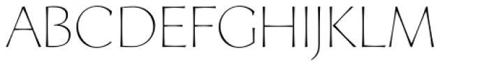 Artica Lt Light Font UPPERCASE