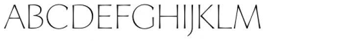 Artica Lt Light Font LOWERCASE