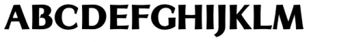 Artica Pro Black Font LOWERCASE