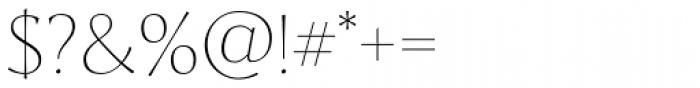 Artica Pro Light Font OTHER CHARS