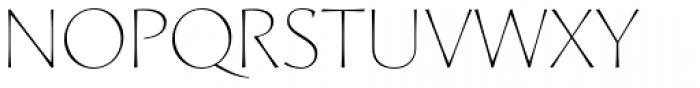 Artica Pro Light Font UPPERCASE