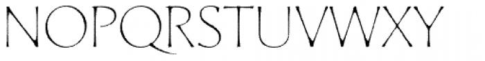 Artica Rough Pro Light Font UPPERCASE