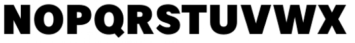 Artico Black Font UPPERCASE