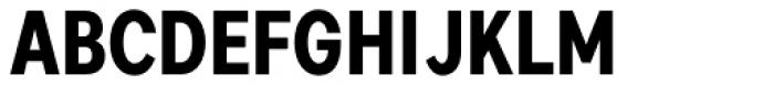 Artico Condensed Bold Font UPPERCASE