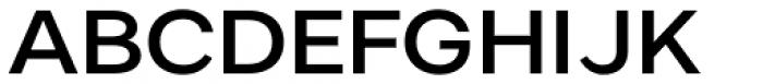 Artico Expanded Medium Font UPPERCASE