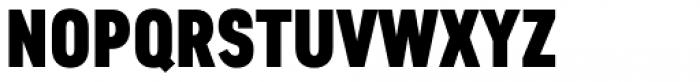 Artico Extra Condensed Black Font UPPERCASE