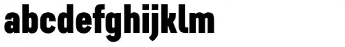 Artico Extra Condensed Black Font LOWERCASE