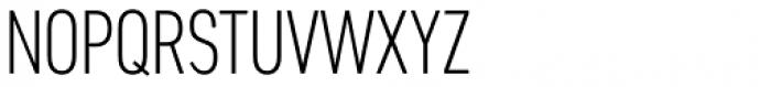 Artico Extra Condensed Extra Light Font UPPERCASE