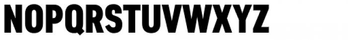 Artico Extra Condensed Heavy Font UPPERCASE