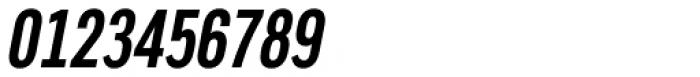 Artico Extra Condensed Medium Italic Font OTHER CHARS