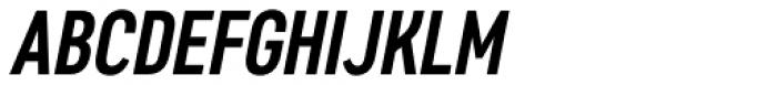 Artico Extra Condensed Medium Italic Font UPPERCASE