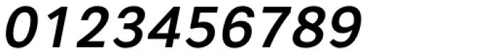Artico Medium Italic Font OTHER CHARS