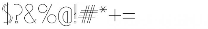 Artie Deco Regular Font OTHER CHARS