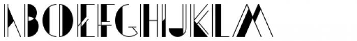 Artie Deco Regular Font UPPERCASE