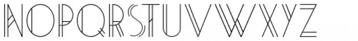 Artie Deco Regular Font LOWERCASE