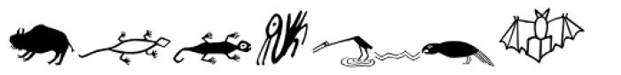 Artifact Two Font LOWERCASE