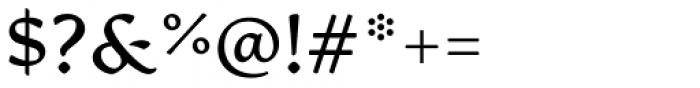 Artifex CF Demi Bold Font OTHER CHARS