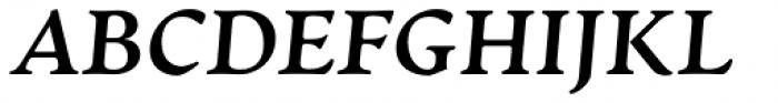 Artifex CF Extra Bold Italic Font UPPERCASE