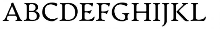 Artifex CF Regular Font UPPERCASE