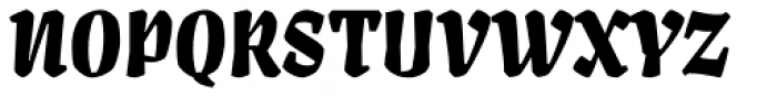 Artigo Display Black Font UPPERCASE