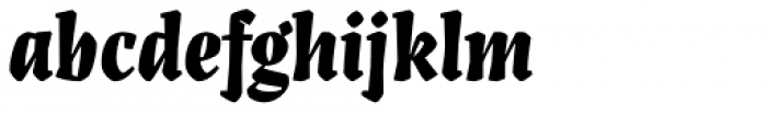 Artigo Display Black Font LOWERCASE