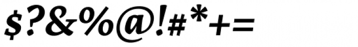 Artigo Global Bold Italic Font OTHER CHARS