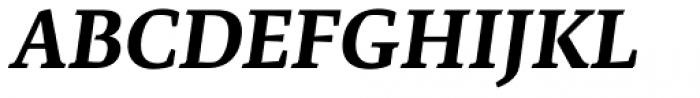 Artigo Global Bold Italic Font UPPERCASE