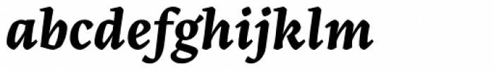 Artigo Global Bold Italic Font LOWERCASE