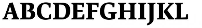 Artigo Global Extra Bold Font UPPERCASE