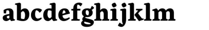 Artigo Global Extra Bold Font LOWERCASE