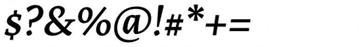 Artigo Global Semibold Italic Font OTHER CHARS