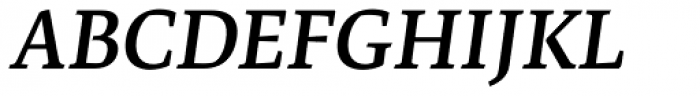 Artigo Global Semibold Italic Font UPPERCASE