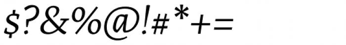 Artigo Pro Book Italic Font OTHER CHARS