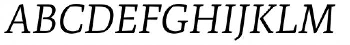 Artigo Pro Book Italic Font UPPERCASE