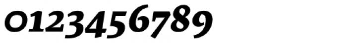 Artigo Pro Extra Bold Italic Font OTHER CHARS