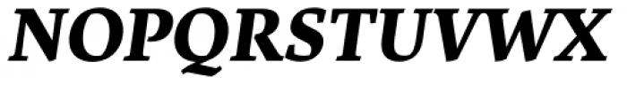 Artigo Pro Extra Bold Italic Font UPPERCASE