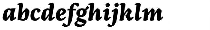 Artigo Pro Extra Bold Italic Font LOWERCASE