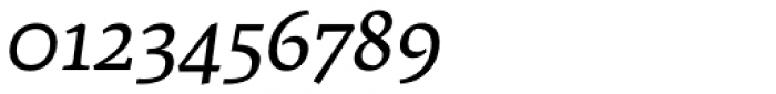 Artigo Pro Italic Font OTHER CHARS
