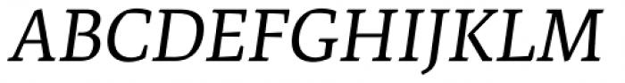 Artigo Pro Italic Font UPPERCASE