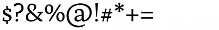 Artigo Pro Regular Font OTHER CHARS