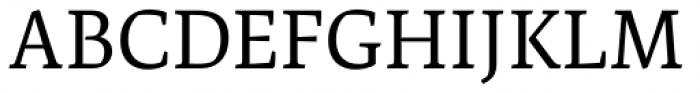 Artigo Pro Regular Font UPPERCASE