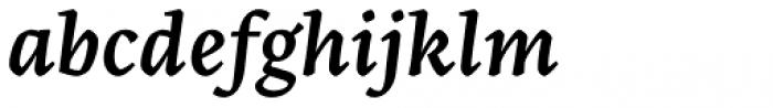 Artigo Pro Semibold Italic Font LOWERCASE