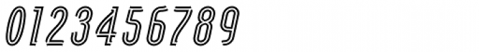 Artios Pro Rail Italic Font OTHER CHARS